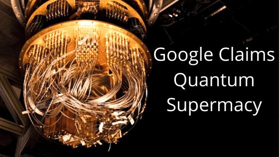Google claims quantum supermacy